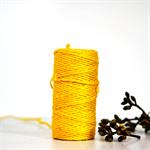 Neon Yellow {10m} Chunky Twine   Jute Twine   Chunky Twine   Yellow Twine
