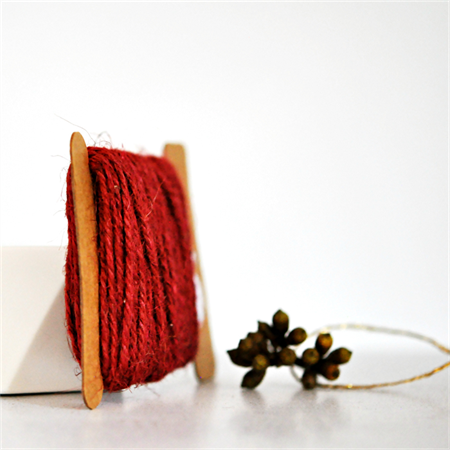 Chunky Rust Red Twine {10m} | Chunky Twine | Red Twine | Rustic Red Twine