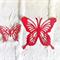 12 beautiful die cut butterfly embellishments.