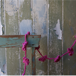 Pink Crochet Garland ~ DIY Project ~ DIY Parties ~ DIY Re-Decorate Bedroom