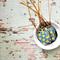 Polka Dot {10} Mini Tags | Blue Yellow Tags | Blue Tags | Teacher Gift under 5