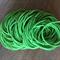 50 x Green Hair Elastics
