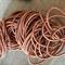 50 x Brown Hair Elastics