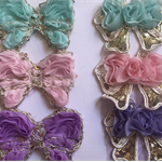 Sequin bow and butterfly pack.
