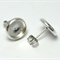 Silver Studs, 10mm - 20pcs - Silver