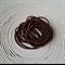 25 x Chocolate Brown Hair Ties/Elastics