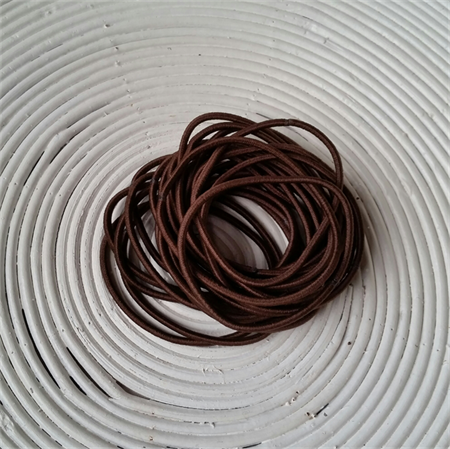 25 x Chocolate Brown Hair Ties/Elastics