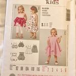 Burda Kids 9459 - Dress and top pattern