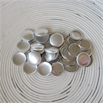 (Size 36 ~ 23mm) 50 x FLAT BACK Self Cover Buttons