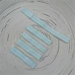 {Light Blue} Elastic Headbands (FOE) x 5