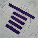 {Dark Purple} Elastic Headbands (FOE) x 5