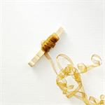 Gold Ribbon {5m}   Gold Gauze Ribbon   Holiday Gift Ribbon   Metallic Ribbon