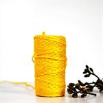 Bright Yellow {10m} Chunky Twine | Jute Twine | Chunky Twine | Yellow Twine