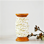 Super Chunky {30ply} Gold Twine {5.0m} | Silver White Bakers Twine or Cord