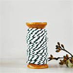Super Chunky {30ply} Black Twine {5.0m} | Black White Bakers Twine or Cord