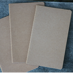 3 Kraft Notebook ~ DIY Notebooks ~ Christmas Gift DIY ~ 2 Ruled 1 Blank