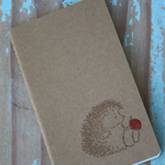 Porcupine Notebook ~ DIY Notebook ~ Christmas Gift DIY ~ Ruled Lines