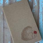 Porcupine Notebook ~ DIY Notebook ~ Christmas Gift DIY ~ Ruled Lines