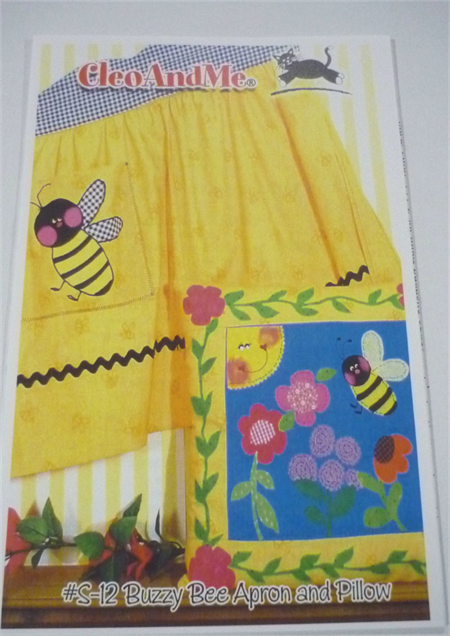 Buzzy Bee Apron and Pillow