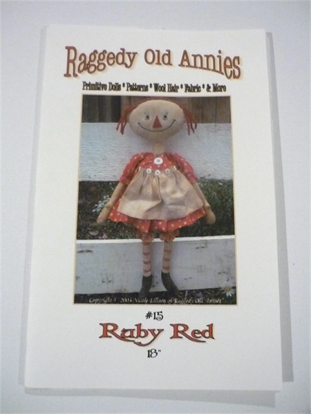* Raggedy Old Annies * Ruby Red