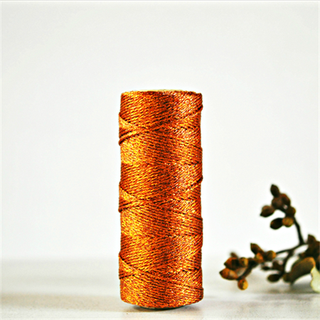 Sparkly Copper Bakers Twine {5m} | Copper Metallic Twine | Sparkly Copper Twine
