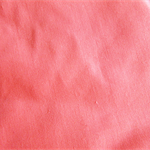 Coral pink cotton