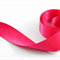 3mt x 38mm HOT PINK Woven Double-sided SATIN RIBBON