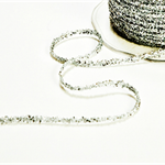 Sparkly Silver Tinsel Twine | Sparkly Silver Glitter String