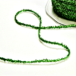 Sparkly Green Tinsel Twine | Sparkly Green Glitter String