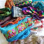 Pre-loved sari trim