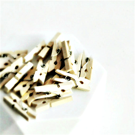 Mini Wood Pegs | Natural Wood Pegs | Gift Wrap | Scrapbooking {25)