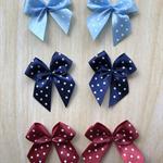 6 ribbon bows