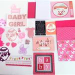Card making kit (Baby girl)