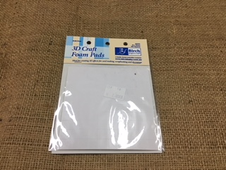 Birch 3D Craft Foam Pads