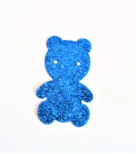Die cuts, 6 teddy bear embellishments.