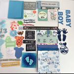 Card making kit (baby boy)