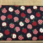 Fabric - 100%cotton Apple Alphabet Print