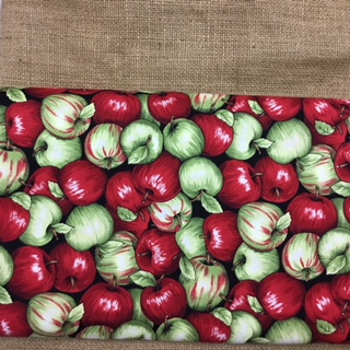 Apple Cotton Print Fabric