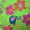 Fabric - Cotton -Birds/Flowers/Paisley
