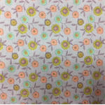 Fabric Cotton Floral Print