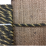 Dark Gold and Light Gold Cording