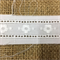 Cotton Embroidered Insertion Trim White