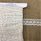 Narrow Cream Cotton Lace