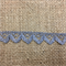 Dark Silver Lace Trim 1.5cm Wide