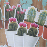 20 Flower & Cactus Die Cuts ~ Flower Shapes ~ DIY Projects ~ Scrapbooking Pieces