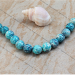 13 Dappled Ceramic Round Porcelain Loose beads 12mm