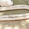 120 Off white Howlite saucer disk rondelle beads 10x3mm