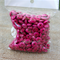 30g (100+beads) Hot pink Fuchsia tone wood rondelle spacer beads 13.5mmx5.5mm