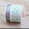 50m Grey silver Nylon Polyester Cord knotting beading cord 0.8mm