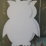 9 Self Stick Owls ~ Owl Sticks ~ DIY Owl Stickers ~  Scrapbooking Lover